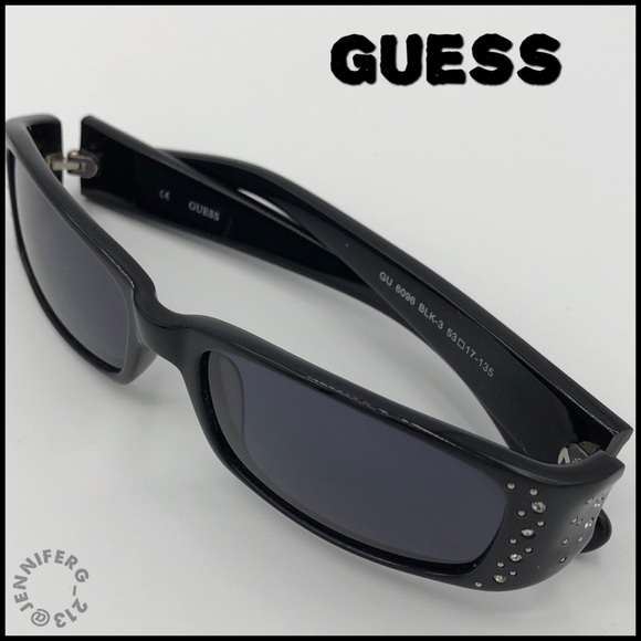 Guess Accessories - GUESS RHINESTONE STUDDED SUNGLASSES #6096 retired
